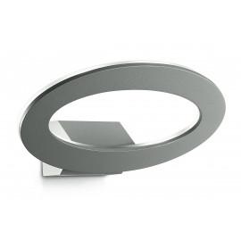 LED-EROS-AP Applique Lampe Led Extérieure Elliptique Aluminium 3000k