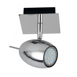 Applique con luce led dalla forma ovale