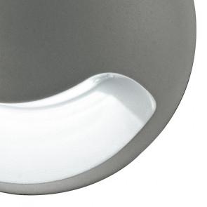 Applique ronde grise avec éclairage...