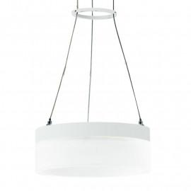 Diffuseur à anneau en acrylique avec structure en aluminium Saturne