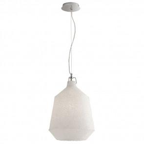 Suspension de fil en métal chromé avec diffuseur acrylique effet lustre déesse lustre