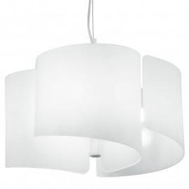 Diffusori in Vetro a Foglio Ricurvo Lampadario Moderno 3 luci