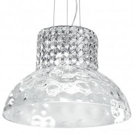 Verre diffuseur K9 cristaux décoration lustre structure de danse en métal
