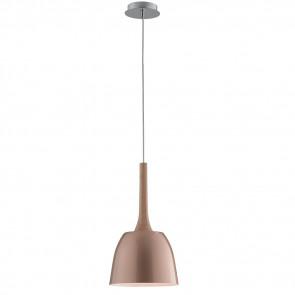I-LIVINGSTON-S22 - Lampadario a Sospensione Legno Naturale Metallo Oro Rosa Moderno E27