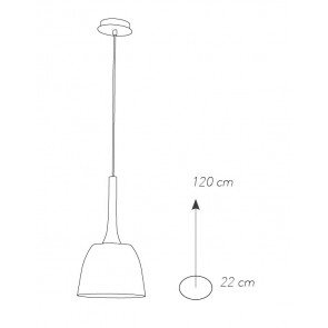 I-LIVINGSTON-S22 - Lampadario a...