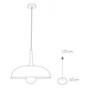 I-LIVINGSTON-S50 - Lustre Circulaire...