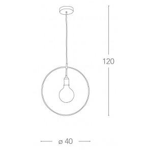 I-FRIDA / S40 - Cercle Suspension...