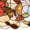 Sospensione Ninfa Diffusore in Vetro con Decoro Floreale Artiginale