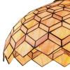 Diffuseur en verre avec suspension Liberty de décoration géométrique artisanale