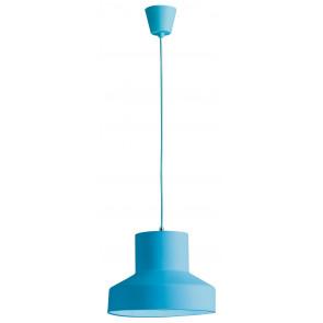 I-LENNON/S1 BLU - Sospensione Moderna Silicone Blu Moderna Interno E27