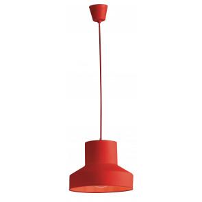 I-LENNON/S1 ROS - Lampadario Sospensione Silicone Rosso Interno Moderno E27