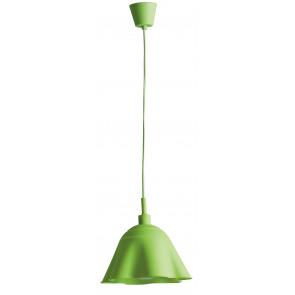 I-MONROE/S1 VDE - Lampadario Sospensione Silicone Morbido Verde Moderno E27