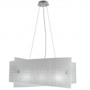 I-PROJECT / S60 - Lustre à Suspension Design Abstrait Moderne Intérieur Verre E27