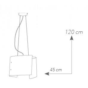 I-CONCEPT / S45 - Suspension Lustre...