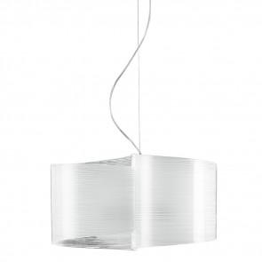 I-JOYCE / S2 - Lignes de décoration en verre pour lustre à suspension Intérieur moderne E27
