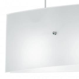 Lustre diffuseur en verre blanc Amsterdam