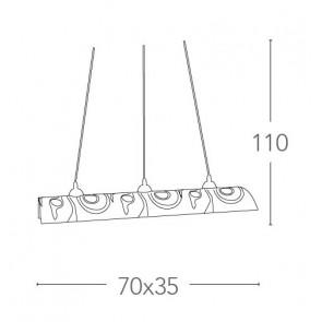 I-SOUND / S3 - Suspension de lustre...