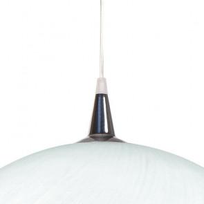 Diffusore in Vetro Bianco con Sospensione a Filo Linea Calice FanEurope