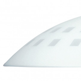 Paralume per Lampadario Quadri in Vetro Bianco con Fori Quadrati FanEurope