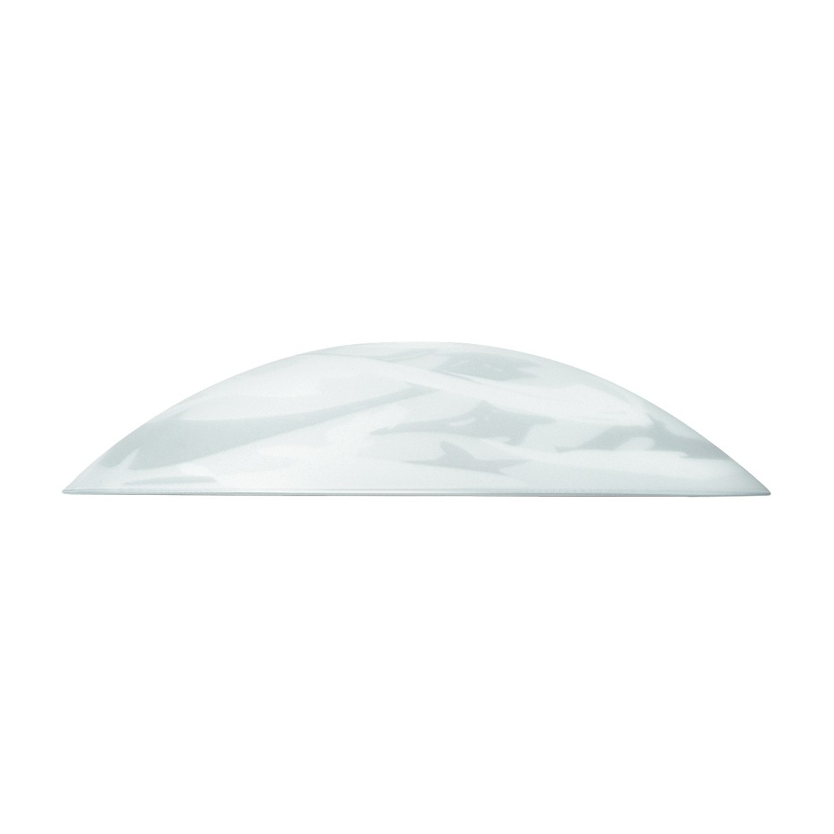 I-V00048400017 - Abat-jour pour suspension en verre blanc albâtre 48x10 cm F42