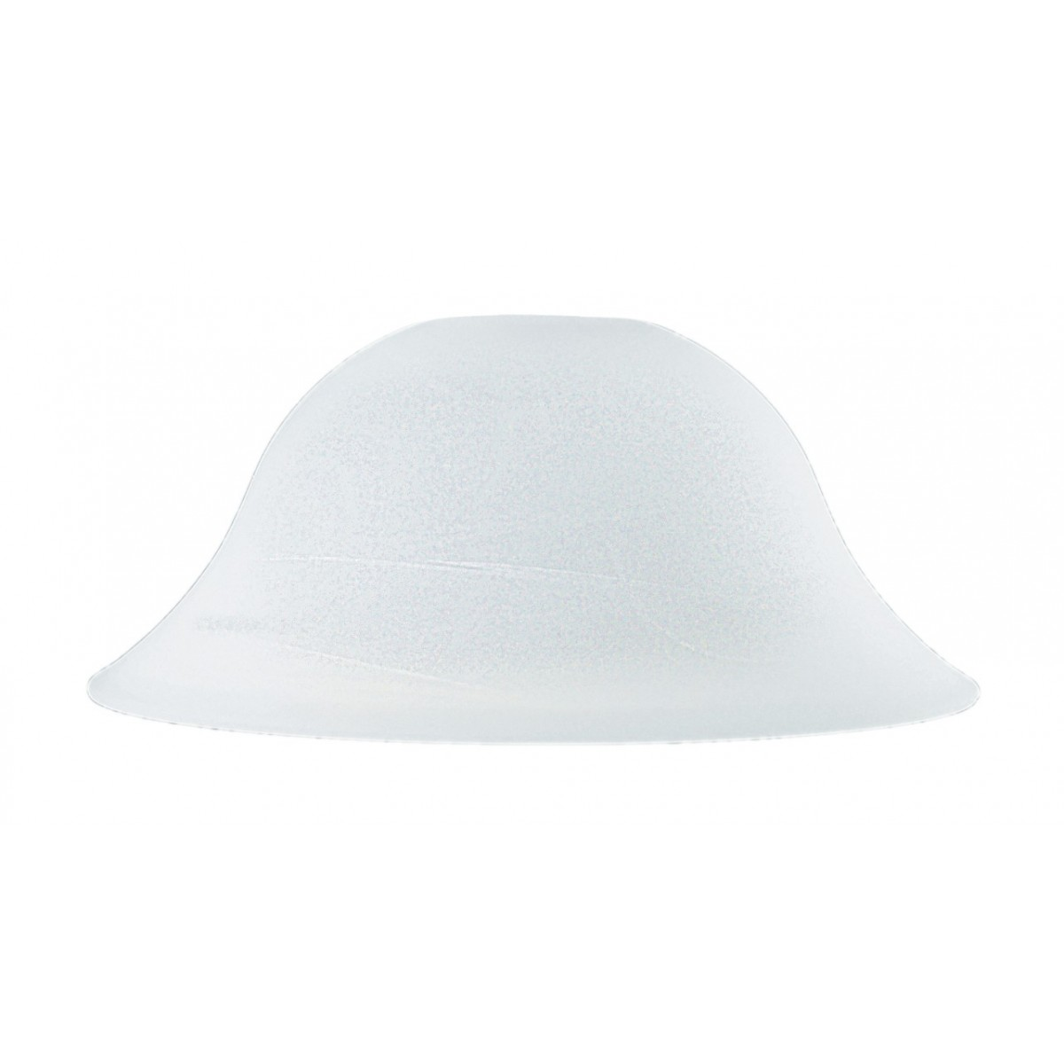 I-V07003104202000 - Paralume per Sospensione Campana Vetro Bianco Alabastro 31x12 cm F42
