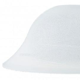 Abat-jour pour lustre en verre blanc albâtre FanEurope