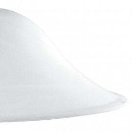 Paralume per Sospensione in Vetro Bianco Alabastro FanEurope