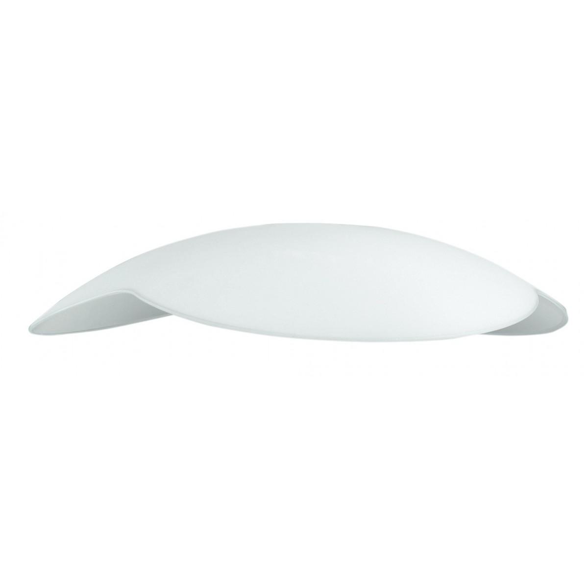 I-V91145400100 - Abat-jour pour suspension en verre blanc 45x10 cm F42