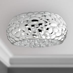 I-DIONISO-PL48-CR - Lampe moderne en métal chromé Pafoniera E27