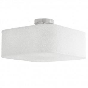 I-DEA-PL42 - Plafonnier Acrylique Cubique avec Effet Paillettes Métalliques Lampe Intérieure Moderne E27