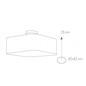 I-DEA-PL42 - Plafonnier acrylique...