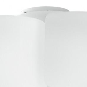 Diffusori in Vetro Bianco a Foglio Ripiegato Plafoniera Imagine