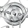 Struttura in Metallo Cromato Plafoniera Ely