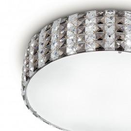 Diffuseur de verre Structure en métal K9 Cristaux Décoration Tango Line