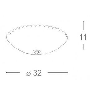 I-PLANET/PL32 - Plafoniera Circolare...
