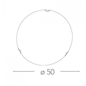 I-OBLO/PL50 - Plafoniera Lampada...