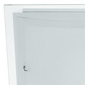 I-061228-1 - Plafoniera quadra bianca...
