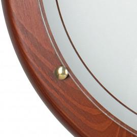 Diffusore in Vetro Bianco con Cornice in Legno Plafoniera 40 cm 1010 Fan Europe