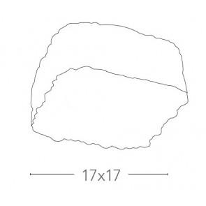 I-GIULIETTA / PL17 - Plafonnier Glace...
