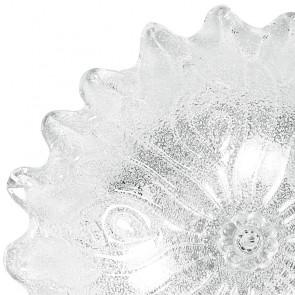 Plafoniera simil fiore trasparente 60...