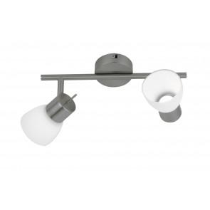 Plafonnier avec deux lumières LED...