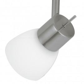Plafonnier avec deux lumières LED avec