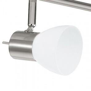 Plafonnier avec six lumières LED au...