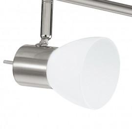 Plafonnier avec six lumières LED au