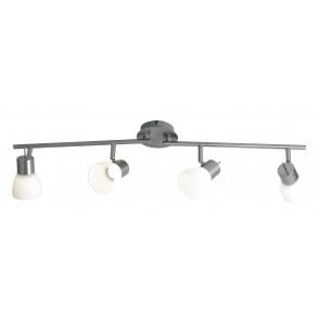 Plafonnier avec quatre lumières LED...