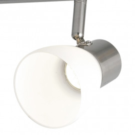 Plafonnier avec quatre lumières LED