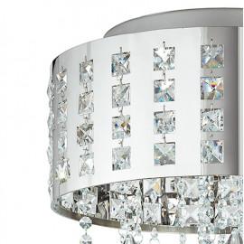 Struttura in Metallo con Cristalli K9 Incastonati Linea Innuendo