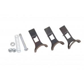CM3030020 - Kit 3 crochets en métal bruni avec petites pièces