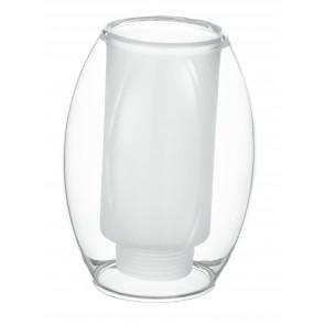Paralume Ovale Vetro Trasparente F30