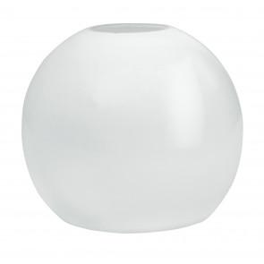 Paralume Tondo Vetro Bianco Opale F42